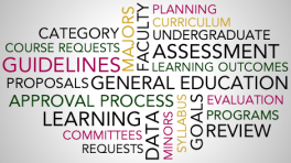 College of Arts and Sciences Curriculum and Assessment wordle