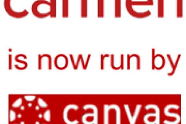 Carmen visual identity with Canvas underneath